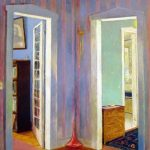 Richard Stout, When I Was Young, 1991, acrylic on canvas, 60 in x 50 in., Collection of the artist