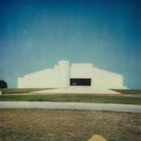 Johnson Building Art Museum South Texas Poloroid