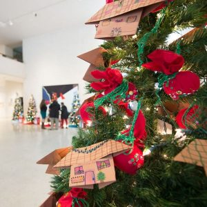 Kids Christmas Tree Forest Contest