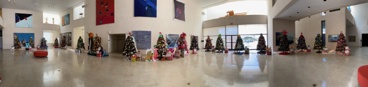 2020 Christmas Tree Forest Exhibition